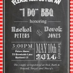 "It's an ""I DO"" BBQ Party!"
