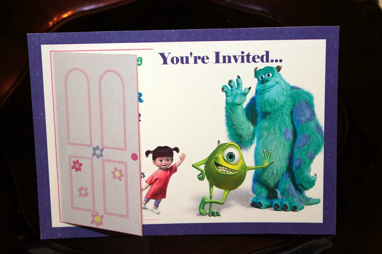 Come Party With The Monsters From Inc