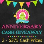 Anniversary CASH Giveaway!