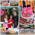 Rain or Shine… A Minnie Mouse Birthday Party!