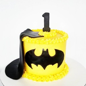 Every little man needs a Batman smash cake!  hellip