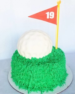 Happy Retirement Cake for a golf fanatic!   hellip