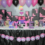 A Girly Superhero Birthday Party