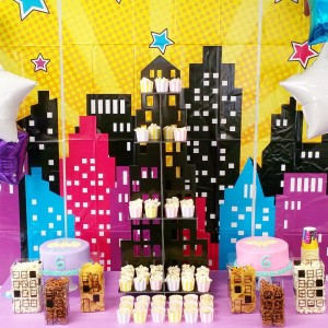 This cupcake tower from orientaltrading is the perfect prop forhellip
